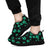 Pawprints Pattern Teal - Women's Sneakers-Sneakers-I love Veterinary