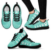 Pawprints Waves Women's Sneakers-Sneakers-I love Veterinary
