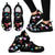 Veterinary Pattern Black Women's Sneakers