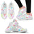 Veterinary Pattern White Women's Sneakers