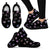 Watercolor Paws Women's Sneakers-Sneakers-I love Veterinary