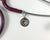 Cat head in heart Stethoscope tag-Stethoscope tag-I love Veterinary