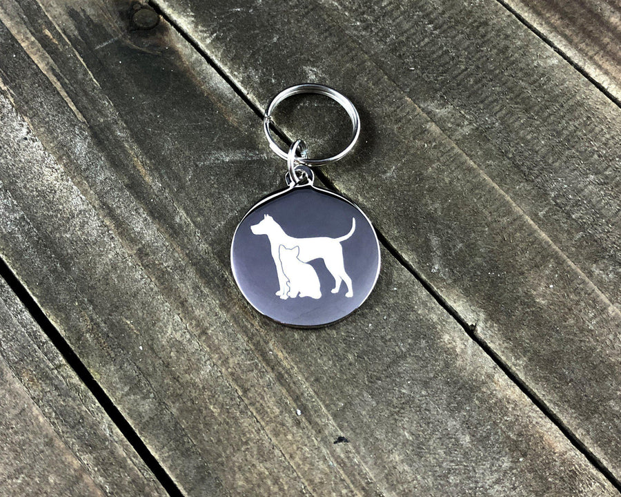 Dog and cat Stethoscope tag-Stethoscope tag-I love Veterinary