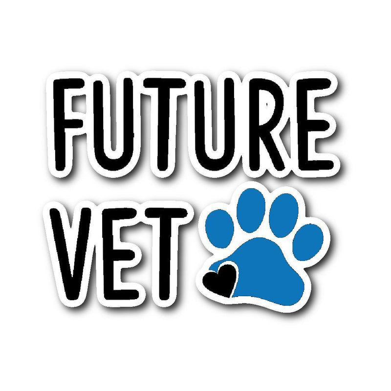 Future Vet Sticker-Stickers-I love Veterinary
