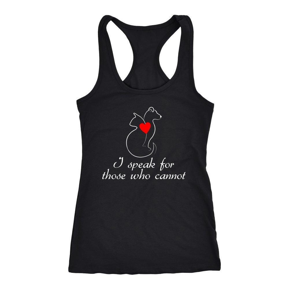 Animal Rescue - I speak for those who cannot Tank Top-T-shirt-I love Veterinary