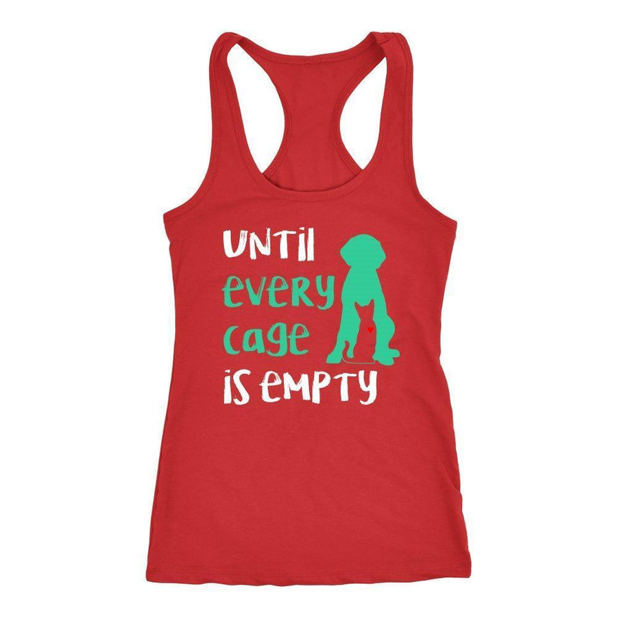 Animal Rescue - Until every cage is empty Tank Top-T-shirt-I love Veterinary