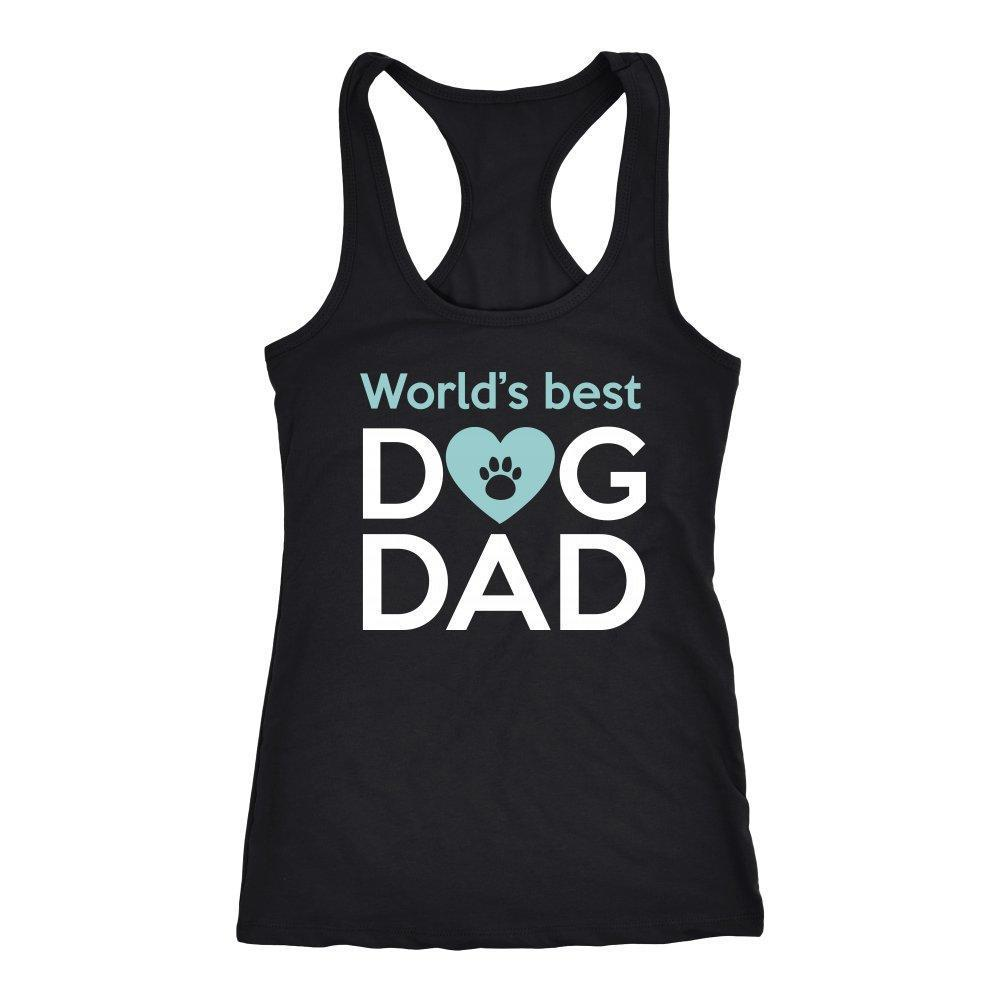 Dogs - World's best dog dad Tank Top-T-shirt-I love Veterinary