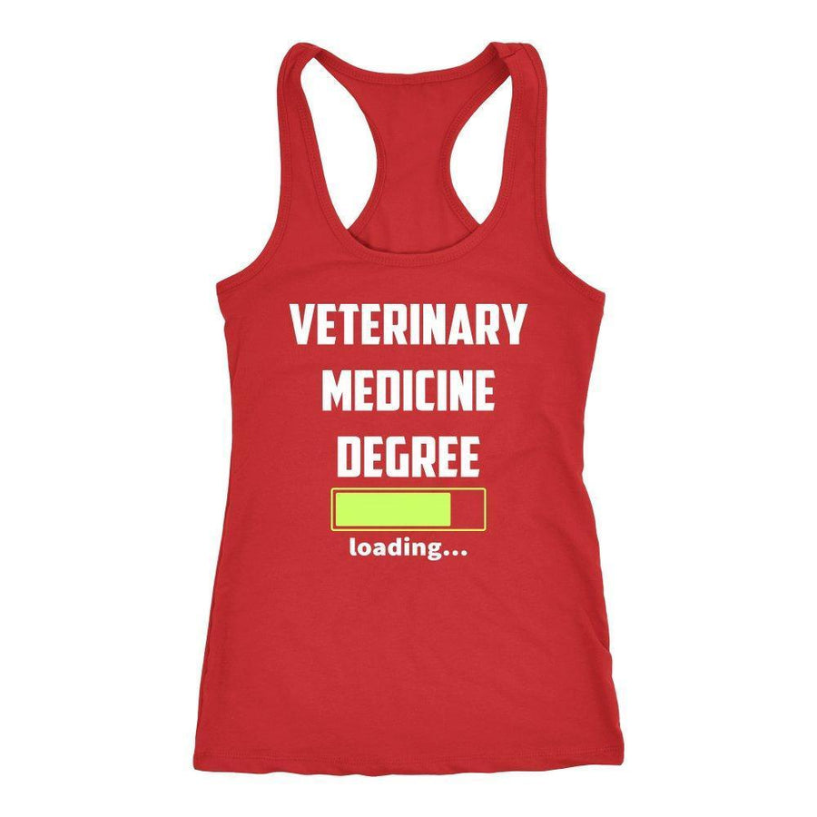 Vet Student - Veterinary medicine degree loading Tank Top-T-shirt-I love Veterinary