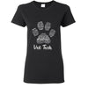 Vet Tech- Paw Print T-shirt or Hoodie-T-shirt-I love Veterinary