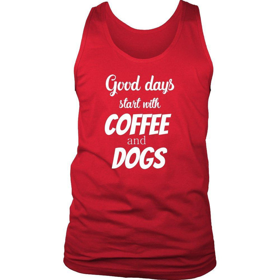 Veterinarian - Coffee and dogs Tank Top