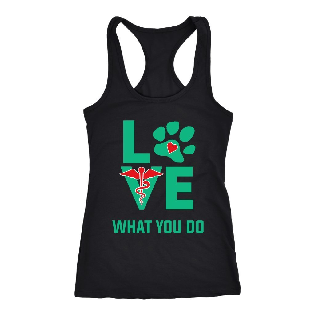 Veterinary - Love what you do Tank Top-T-shirt-I love Veterinary
