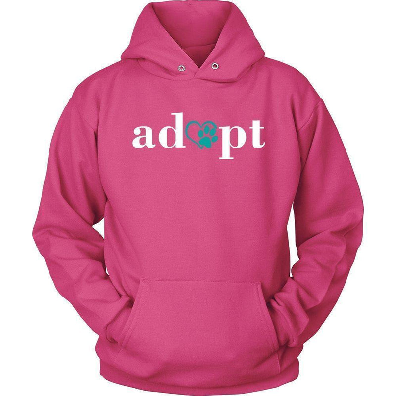 Animal Rescue - Adopt Shirts-T-shirts and Hoodie-I love Veterinary