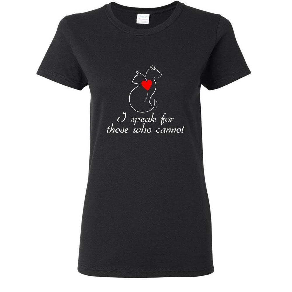 Animal Rescue - I speak for those who cannot Shirts-T-shirts and Hoodie-I love Veterinary