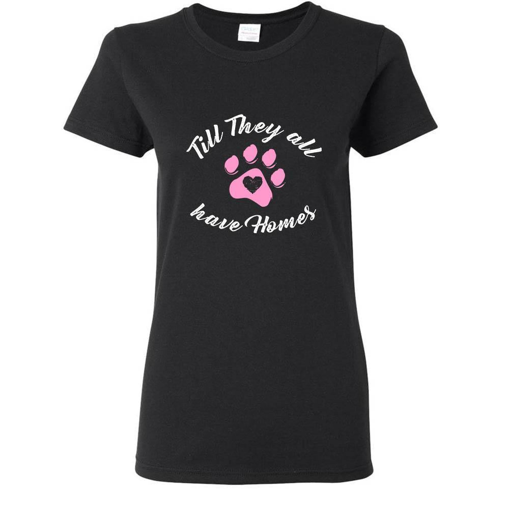 Animal Rescue - Till they all have home Shirts-T-shirts and Hoodie-I love Veterinary