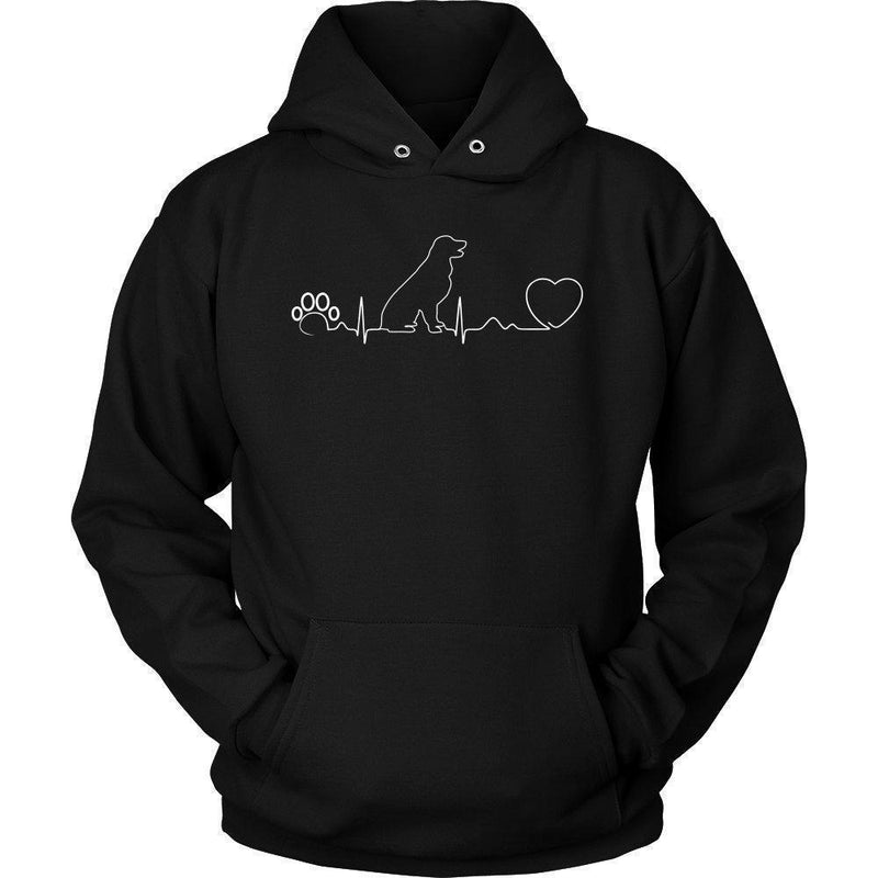 Dogs - Dog heartbeat Shirts-T-shirts and Hoodie-I love Veterinary