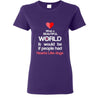 Dogs - If people had hearts like dogs Shirts-T-shirts and Hoodie-I love Veterinary