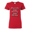 Dogs- Physically I'm here, Mentally I'm with my dog T-shirt/ Hoodie-T-shirts and Hoodie-I love Veterinary