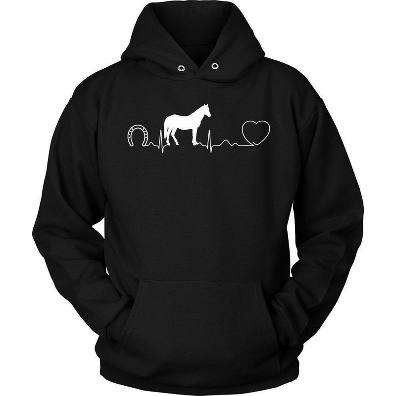 Equine Vet- Horse pulse T-shirt/ Hoodie-T-shirts and Hoodie-I love Veterinary