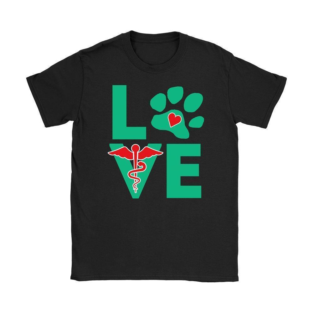 I Love Veterinary Shirts and Hoodies-T-shirts and Hoodie-I love Veterinary
