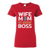 Vet Assistant- Wife Mom Vet Assistant BOSS T-shirt/ Hoodie-T-shirts and Hoodie-I love Veterinary