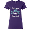Vet Receptionist- Inked and Educated T-shirt/ Hoodie-T-shirts and Hoodie-I love Veterinary
