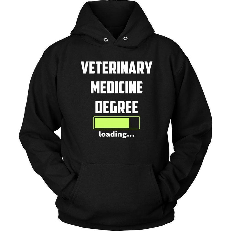 Vet Student - Veterinary medicine degree loading Shirts-T-shirts and Hoodie-I love Veterinary