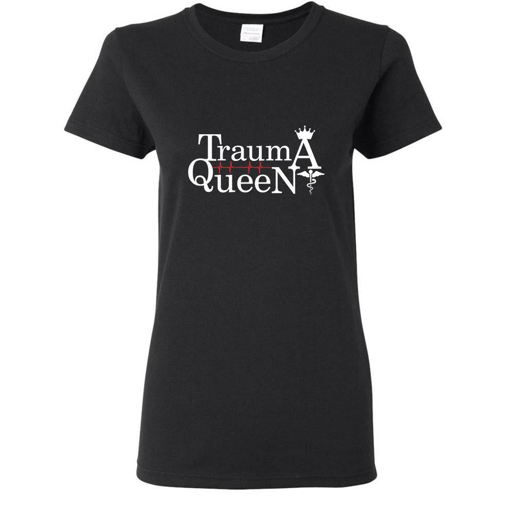 Vet Tech- Trauma Queen T-shirt/ Hoodie-T-shirts and Hoodie-I love Veterinary