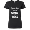 Veterinarian- Coffee and dogs T-shirt/ Hoodie-T-shirts and Hoodie-I love Veterinary