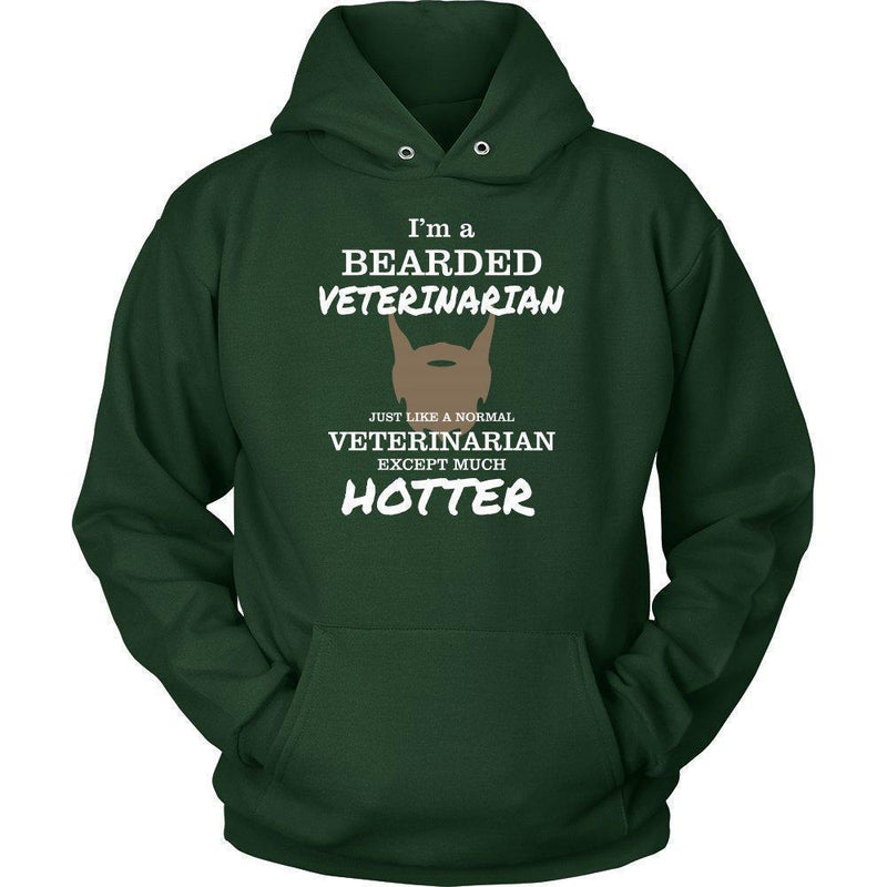 Veterinarian- I'm a bearded Veterinarian T-shirt/ Hoodie-T-shirts and Hoodie-I love Veterinary