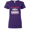 Veterinarian- Veterinarian because people are Gross T-shirt/ Hoodie-T-shirts and Hoodie-I love Veterinary