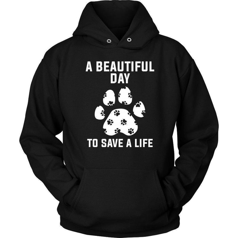 Veterinary - A beautiful day to save a life Shirts-T-shirts and Hoodie-I love Veterinary