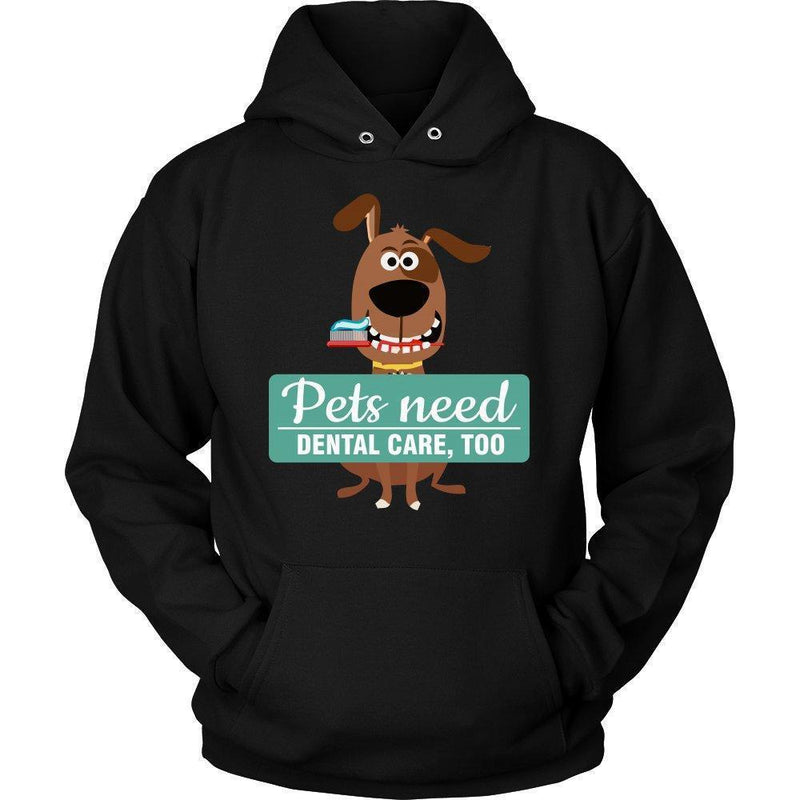 Veterinary- Pet Dental Health T-shirt/ Hoodie-T-shirts and Hoodie-I love Veterinary