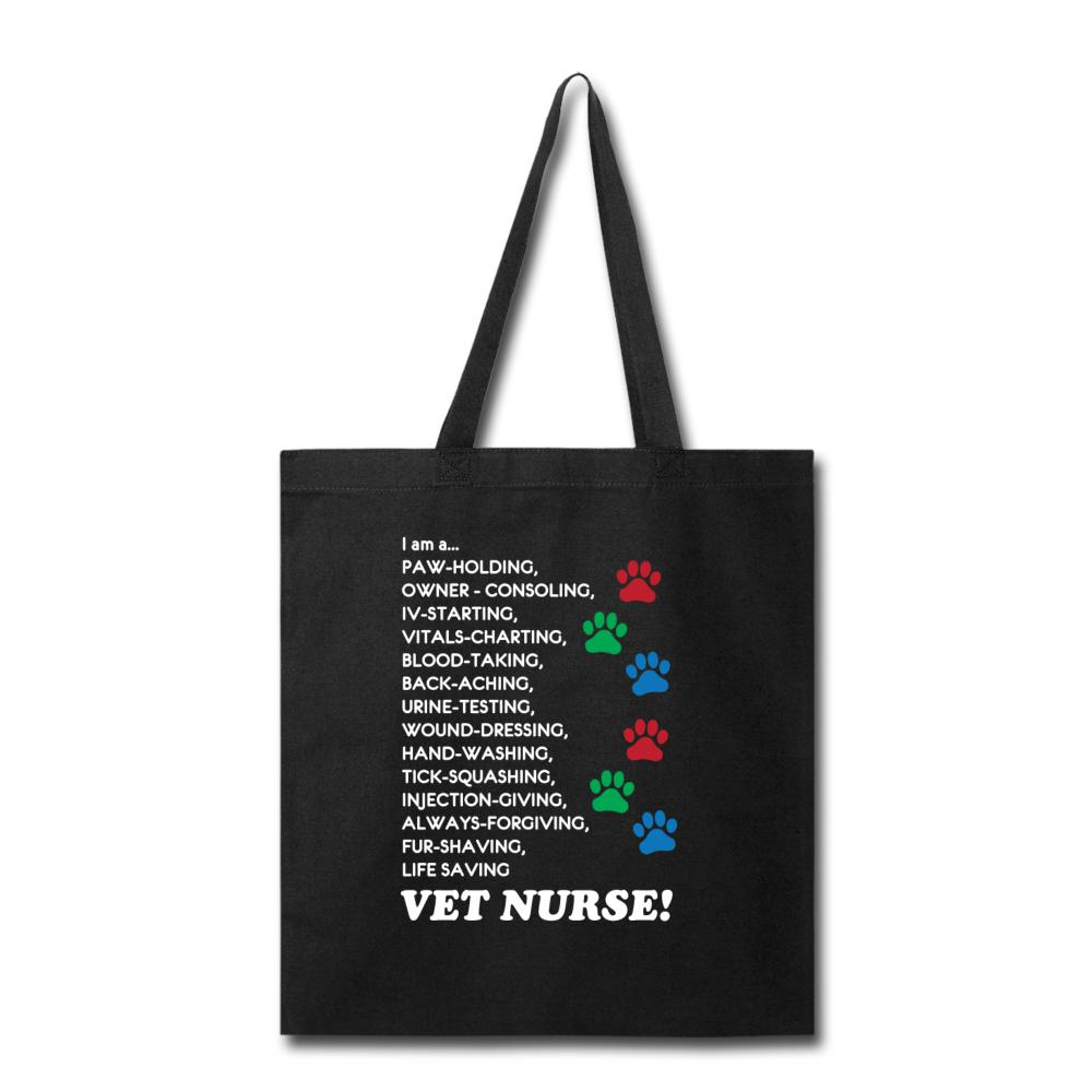 I am a... Vet nurse Cotton Tote Bag-Tote Bag-I love Veterinary