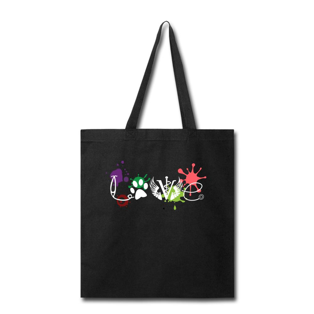 Love Veterinary Cotton Tote Bag-Tote Bag-I love Veterinary