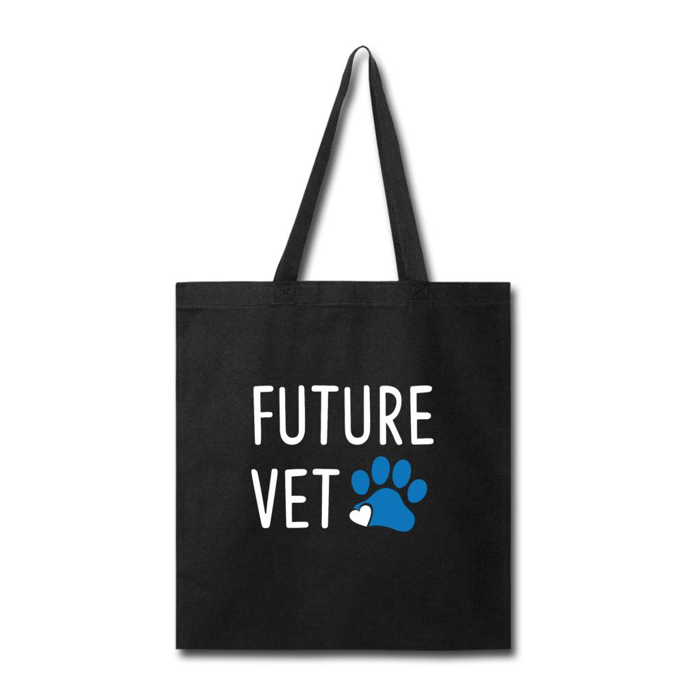 Vet Student - Future Vet Cotton Tote Bag-Tote Bag-I love Veterinary