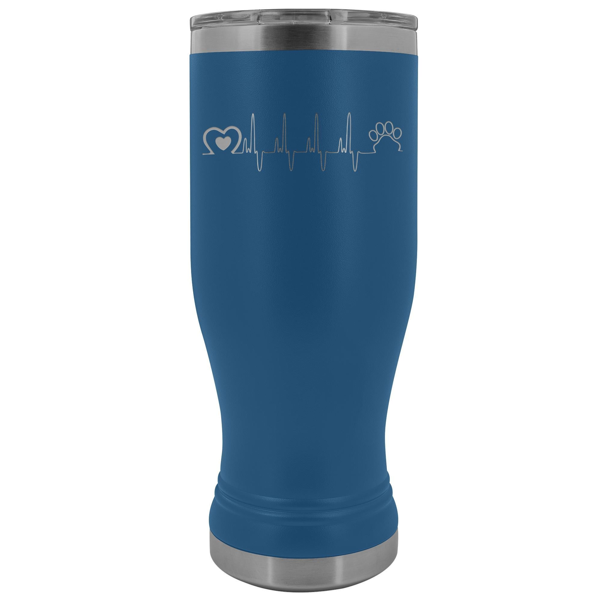 Animal Love Beat 20oz BOHO Vacuum Tumbler-Tumblers-I love Veterinary