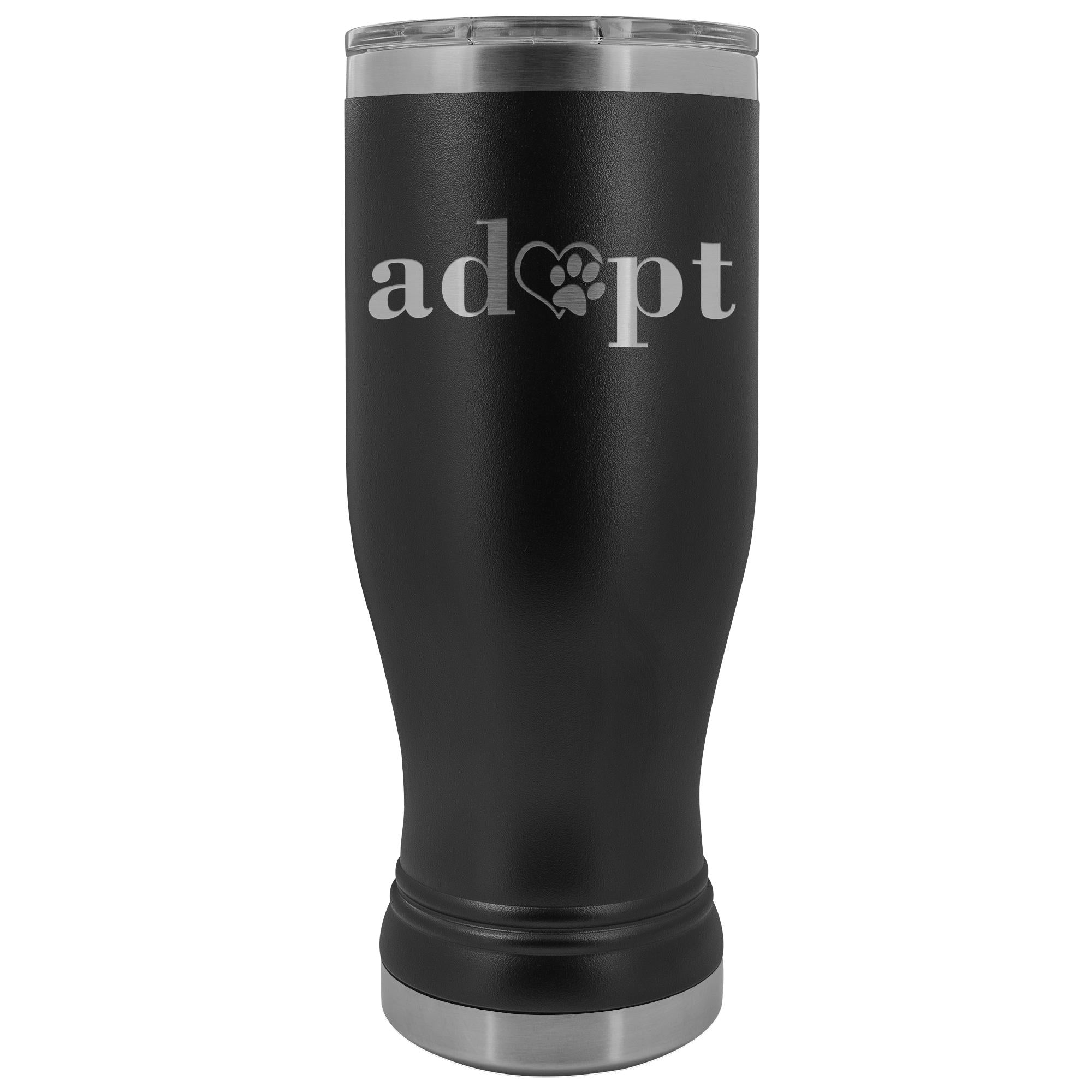 Animal Rescue- Adopt 20oz BOHO Vacuum Tumbler-Tumblers-I love Veterinary