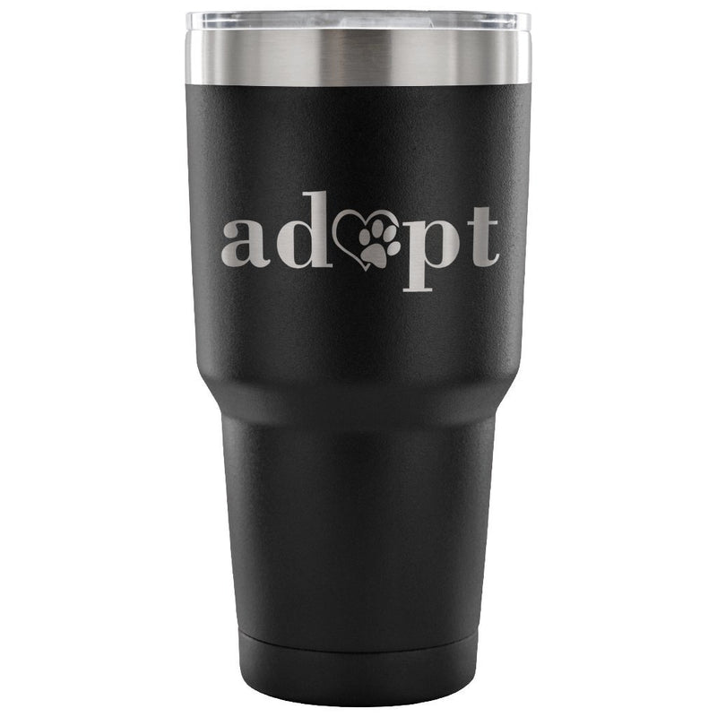 Animal Rescue - Adopt 30oz Vacuum Tumbler-Tumblers-I love Veterinary