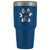 Dog Pawprint 30oz Vacuum Tumbler-Tumblers-I love Veterinary