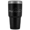 Dogs - Dog heartbeat 30oz Vacuum Tumbler-Tumblers-I love Veterinary