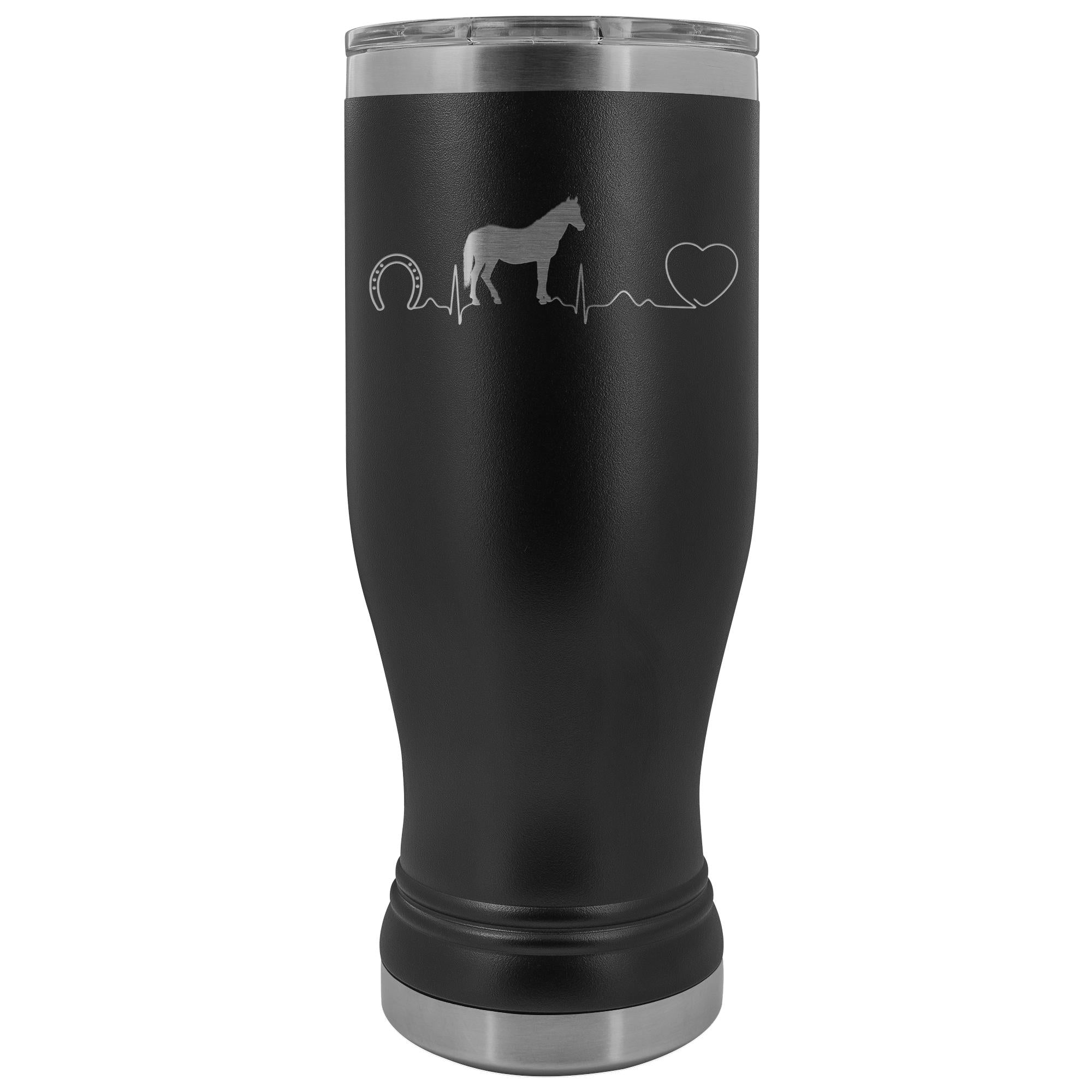 Large Animal Vet- Horse pulse 20oz BOHO Vacuum Tumblerv-Tumblers-I love Veterinary
