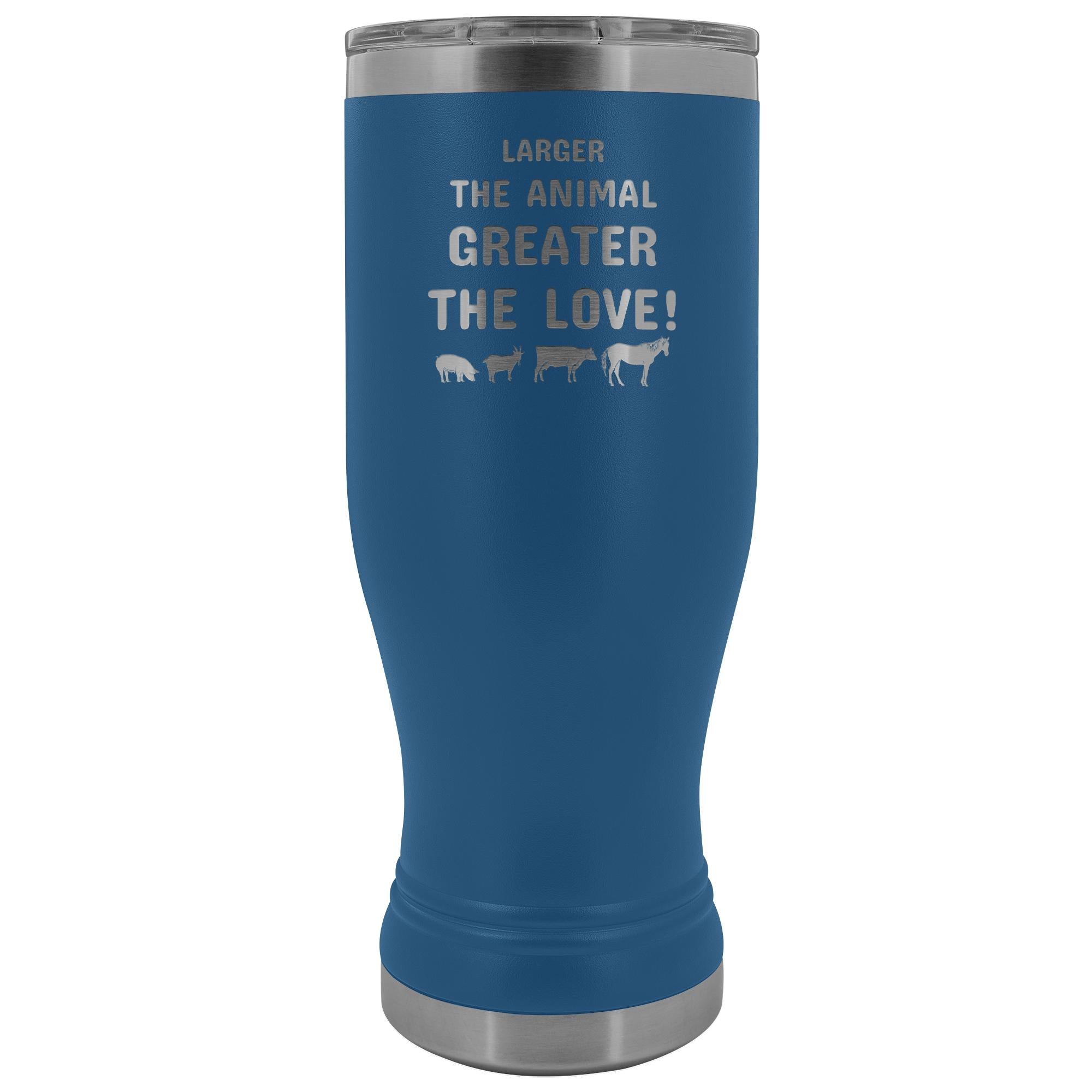 Large Animal Vet- Larger the animal- Greater the love! 20oz BOHO Vacuum Tumbler-Tumblers-I love Veterinary