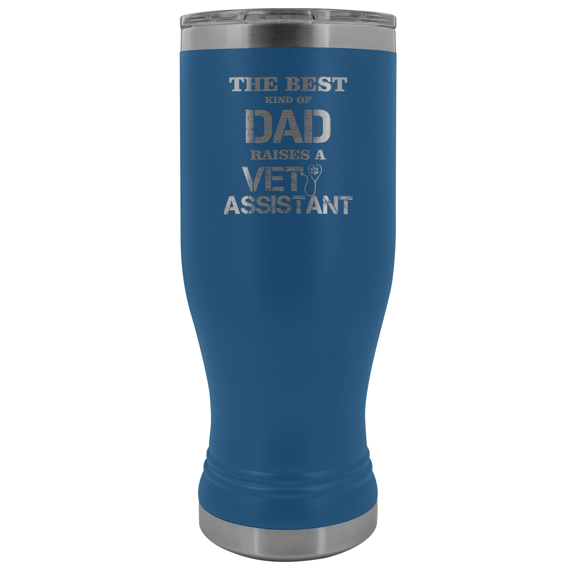Vet Assistant- The best kind of Dad raises a Vet Assistant 20oz BOHO Vacuum Tumbler-Tumblers-I love Veterinary