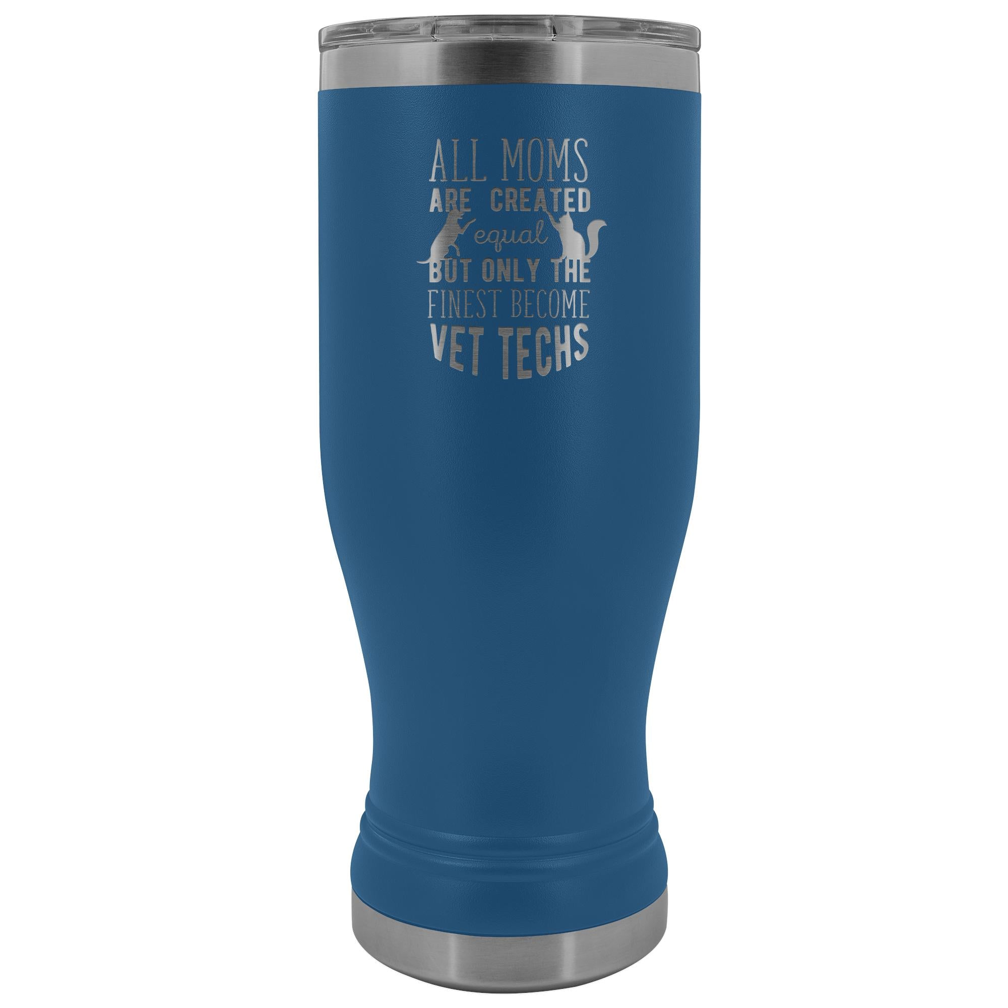 Vet Tech- All moms were created equal, but only the finest become vet techs 20oz BOHO Vacuum Tumbler-Tumblers-I love Veterinary