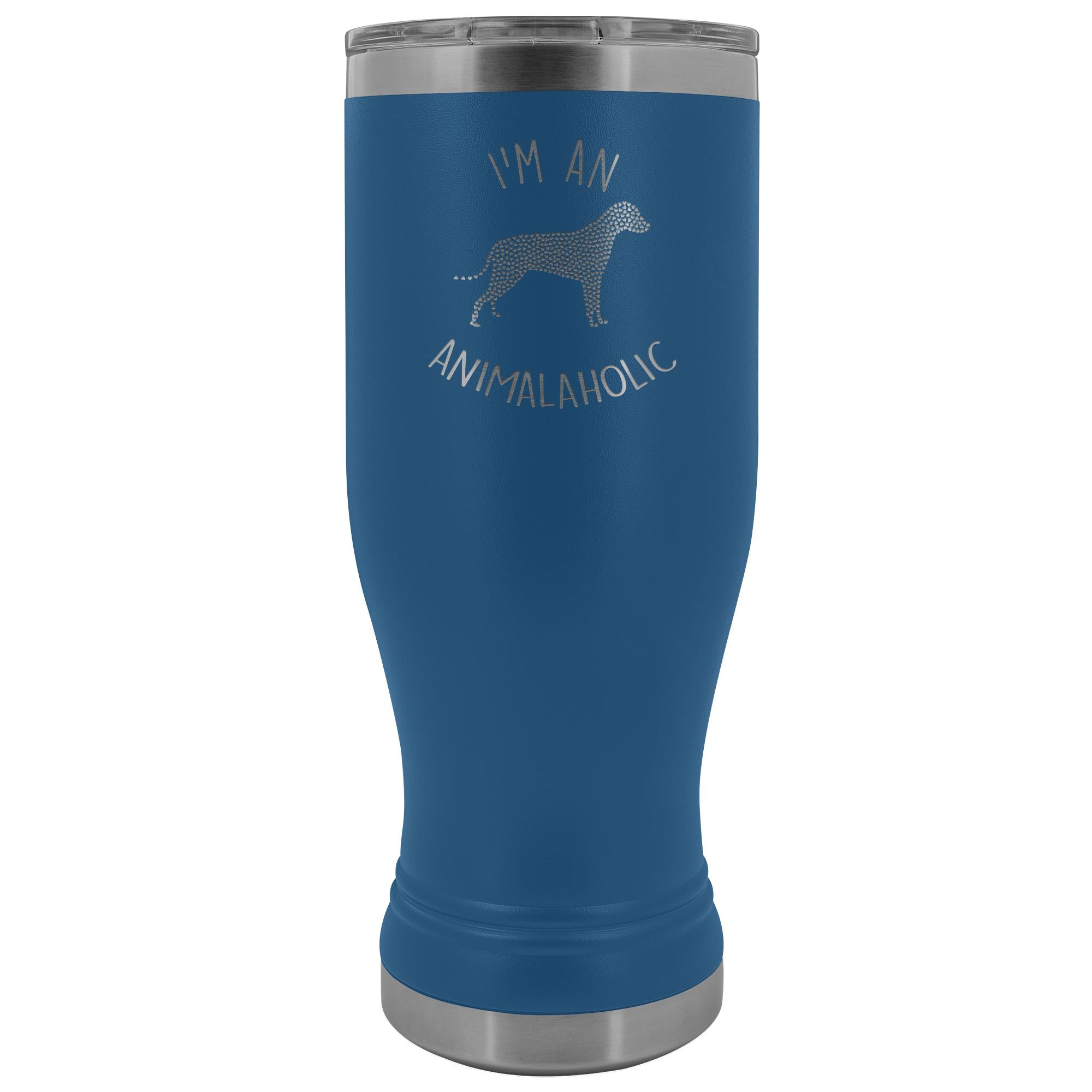 Vet Tech- I'm an animalaholic 20oz BOHO Vacuum Tumbler-Tumblers-I love Veterinary