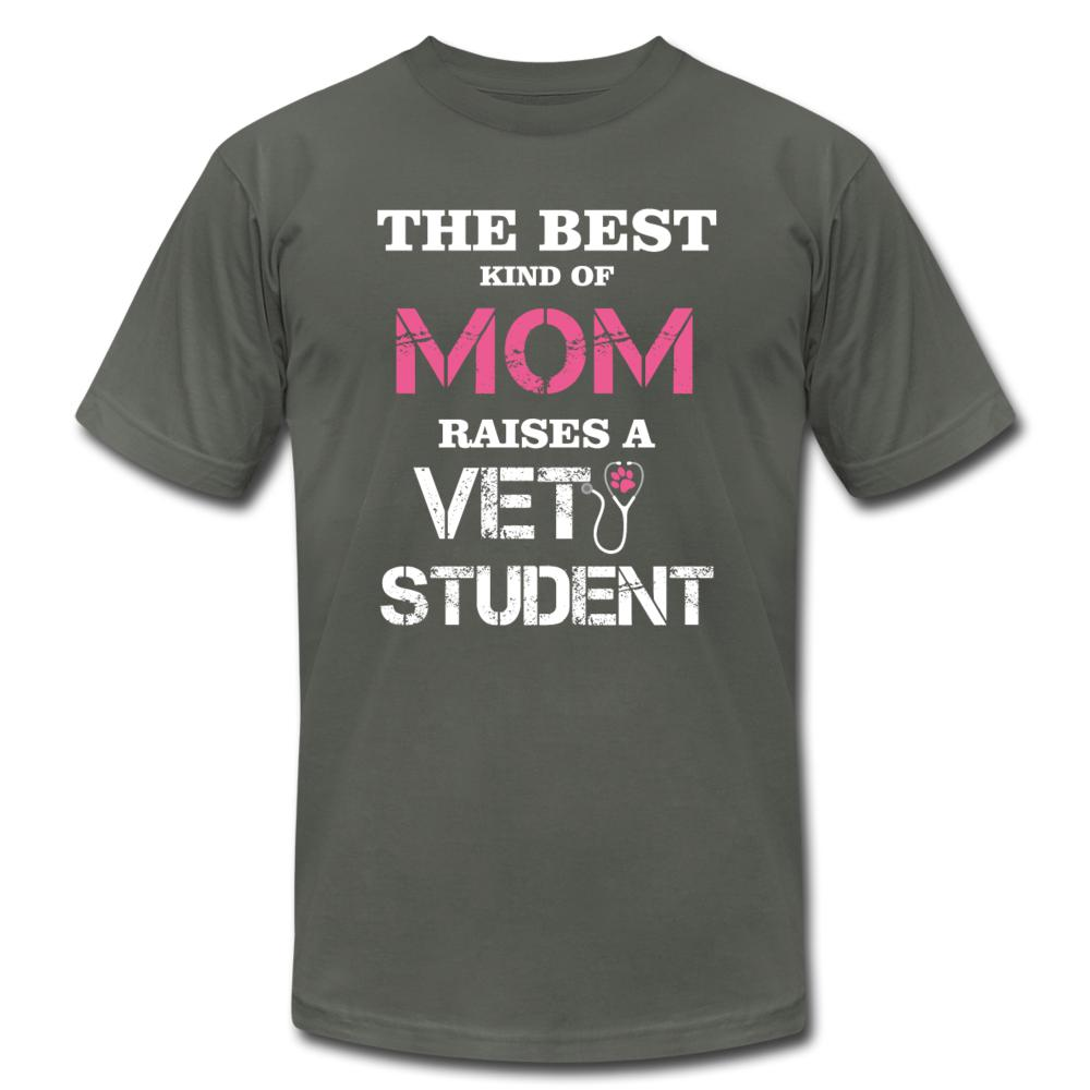 The best kind of Mom raises a Vet Student Unisex Jersey T-Shirt by Bella + Canvas-Unisex Jersey T-Shirt by Bella + Canvas-I love Veterinary