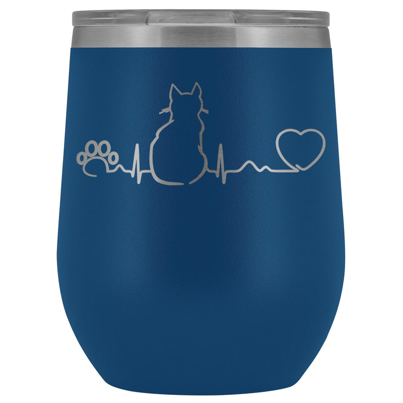 Cats- Cat Pulse 12oz Wine Tumbler