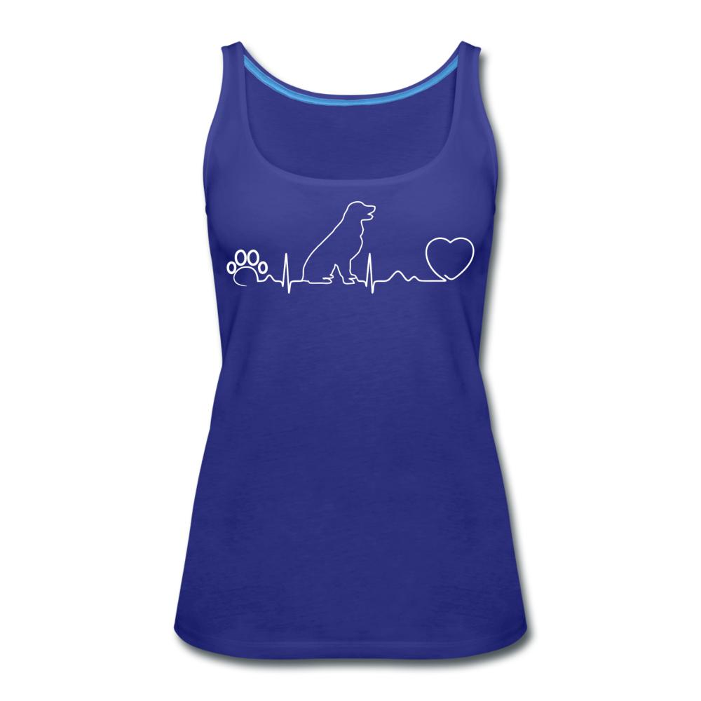 Dog heartbeat Women's Tank Top-Women's Premium Tank Top | Spreadshirt 917-I love Veterinary