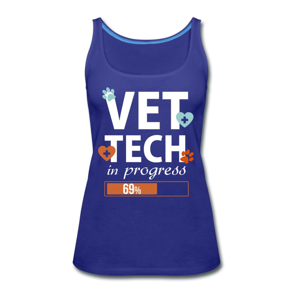 Vet Tech in progress Women's Tank Top-Women's Premium Tank Top | Spreadshirt 917-I love Veterinary