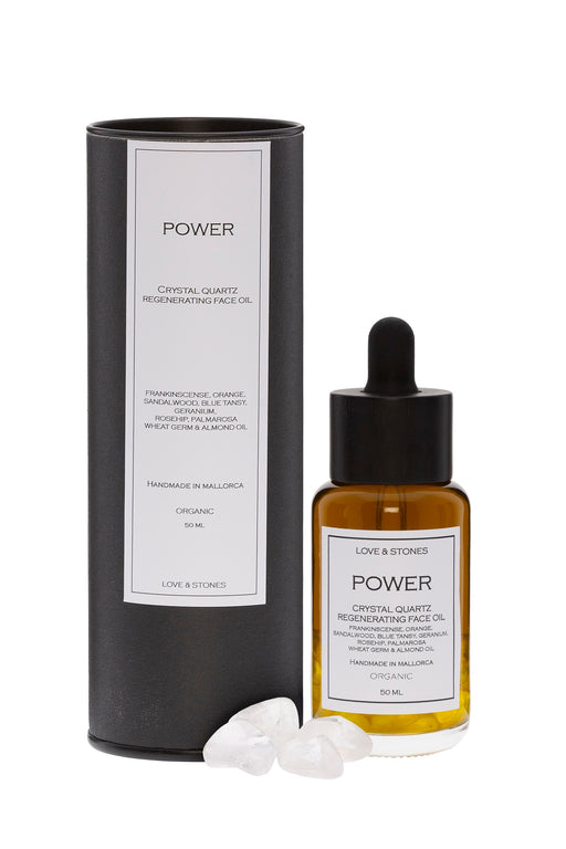 POWER CRYSTAL QUARTZ REGENERATING FACE OIL